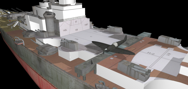 Bismarck-Alpha01-samolot